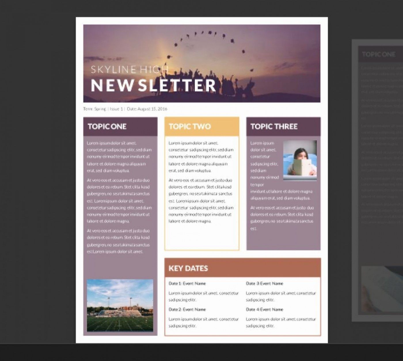 002 Archaicawful Publisher Newsletter Template Free Image  M Download Microsoft1400