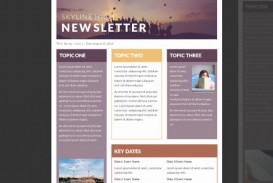 002 Archaicawful Publisher Newsletter Template Free Image  Microsoft Office Download