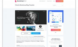 002 Archaicawful Simple Html Blog Template Free Download Example  With Cs