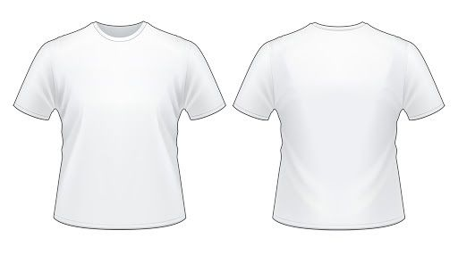 002 Archaicawful T Shirt Design Template Psd Sample  Blank T-shirt V Neck Photoshop CollarFull