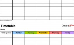 002 Archaicawful Weekly Schedule Template Word Sample  School Work Plan