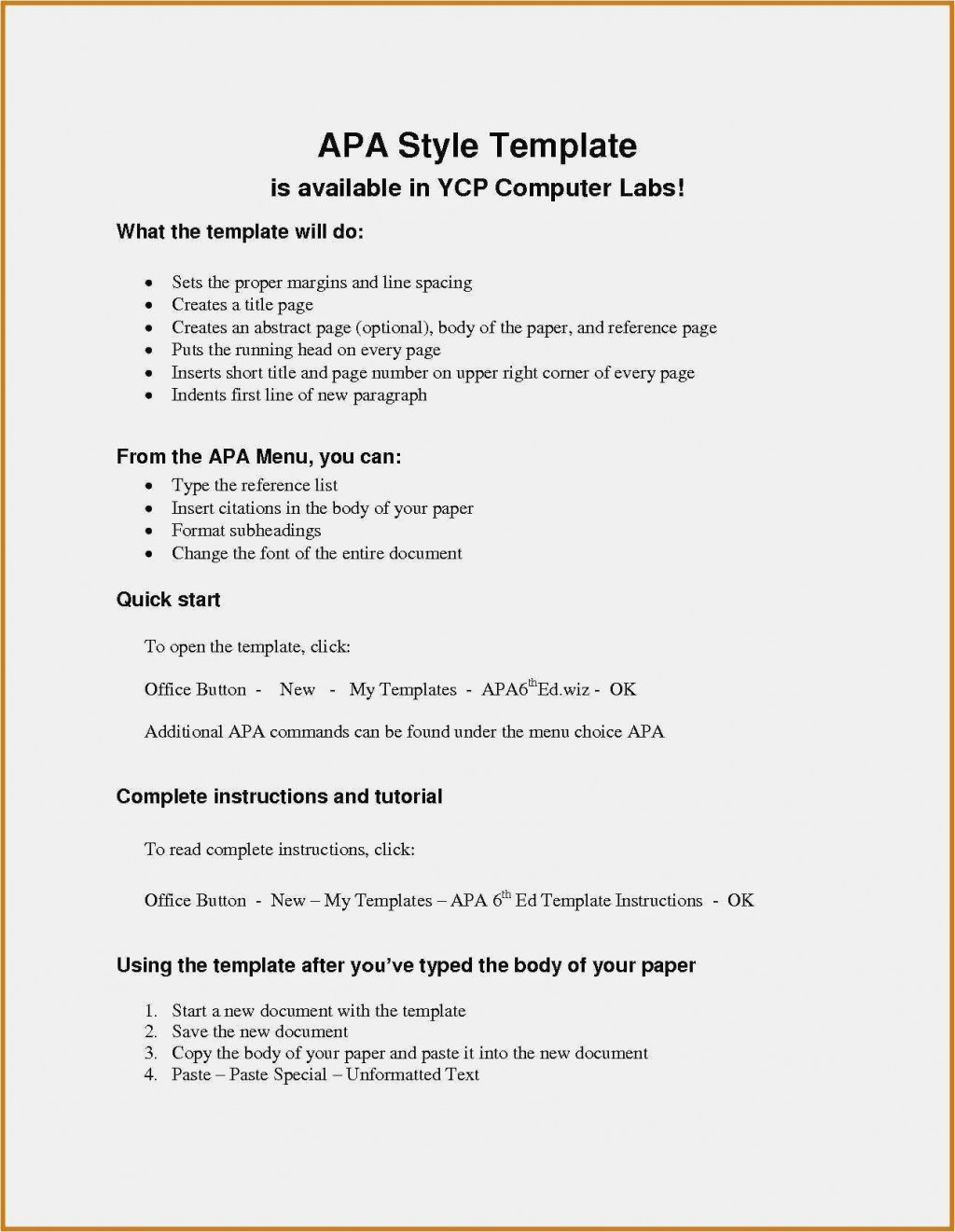 002 Astounding Apa Reference Page Template Idea  Format In Word For Website GeneratorLarge