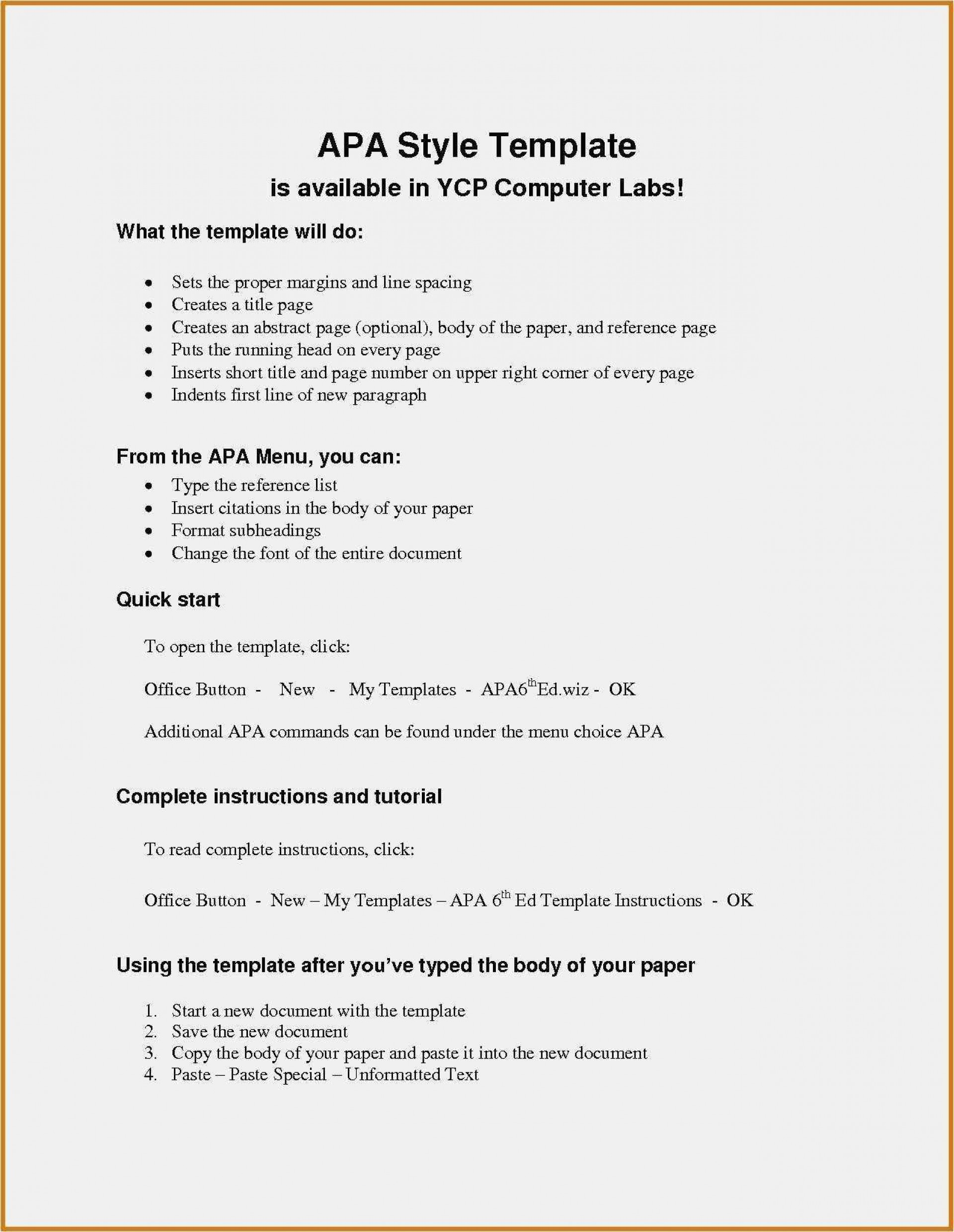 002 Astounding Apa Reference Page Template Idea  Format In Word For Website Generator1920