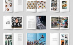 002 Astounding Free Magazine Article Layout Template For Word Example