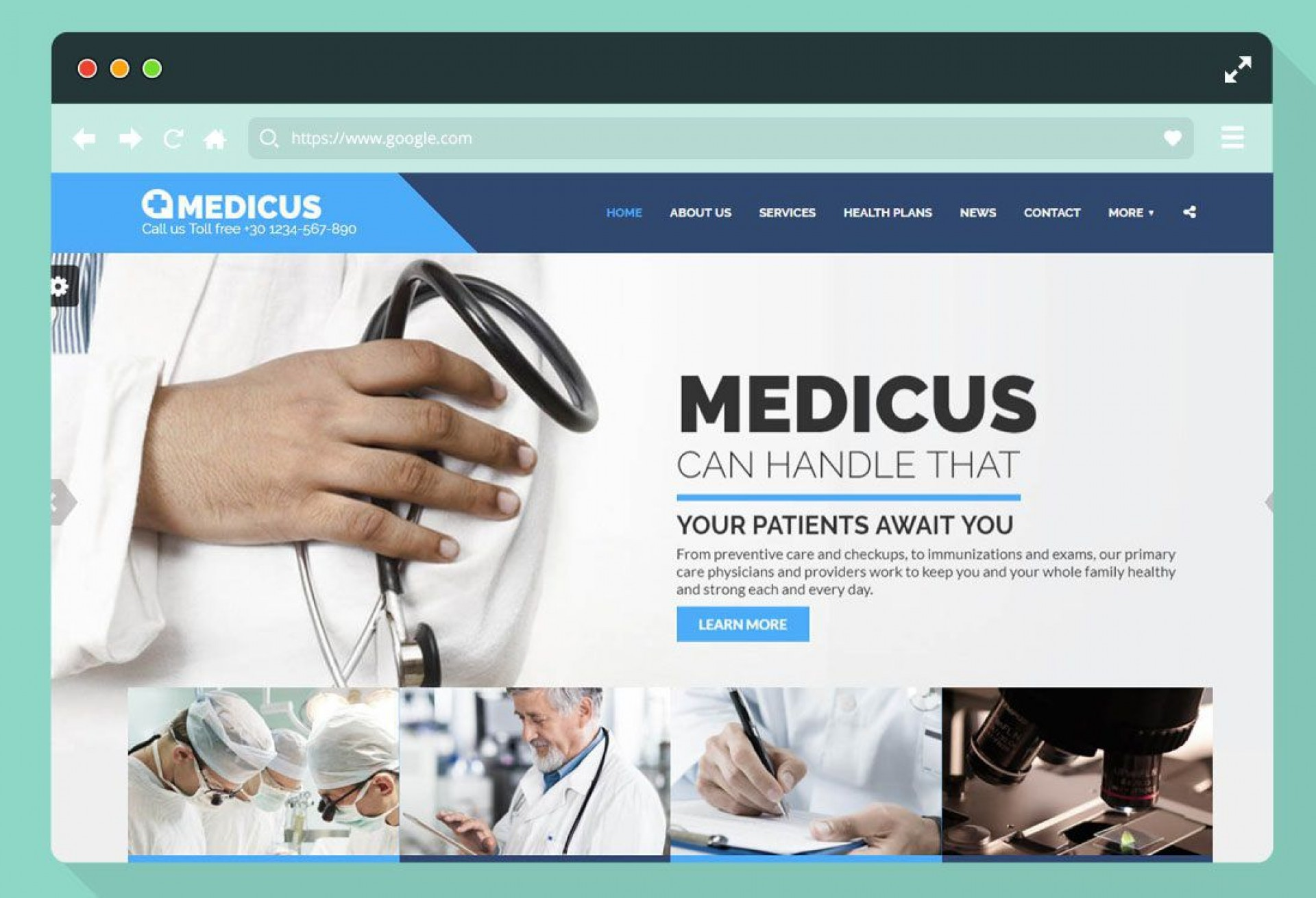 002 Astounding Free Website Template Download Html And Cs Jquery For Hospital Concept 1920