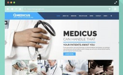 002 Astounding Free Website Template Download Html And Cs Jquery For Hospital Concept