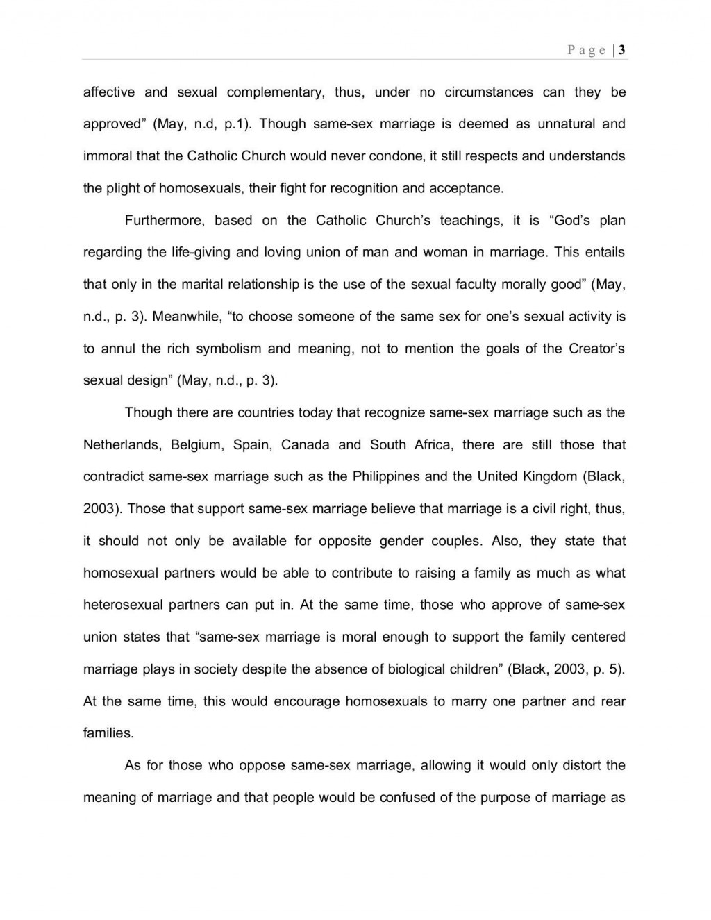 002 Astounding Gay Marriage Essay Design  Example Clever Title ForLarge