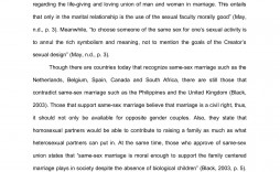 002 Astounding Gay Marriage Essay Design  Example Clever Title For