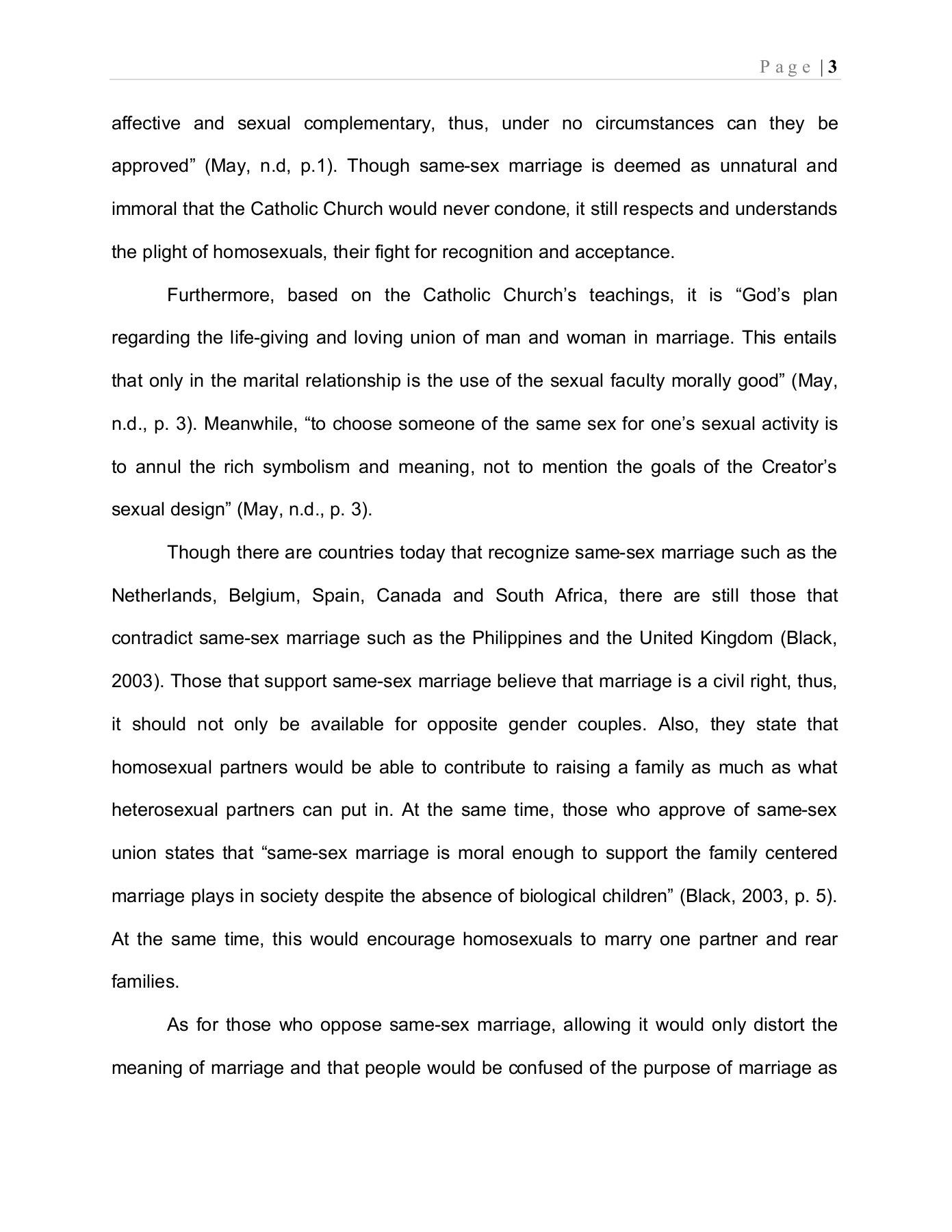 002 Astounding Gay Marriage Essay Design  Example Clever Title ForFull