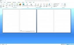 002 Astounding Microsoft Word Card Template Idea  Birthday Half Fold Place Download Free