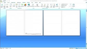 002 Astounding Microsoft Word Card Template Idea  Birthday Download Busines Free360