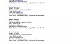 002 Astounding Resume Reference List Template Microsoft Word High Resolution