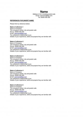 002 Astounding Resume Reference List Template Microsoft Word High Resolution 320