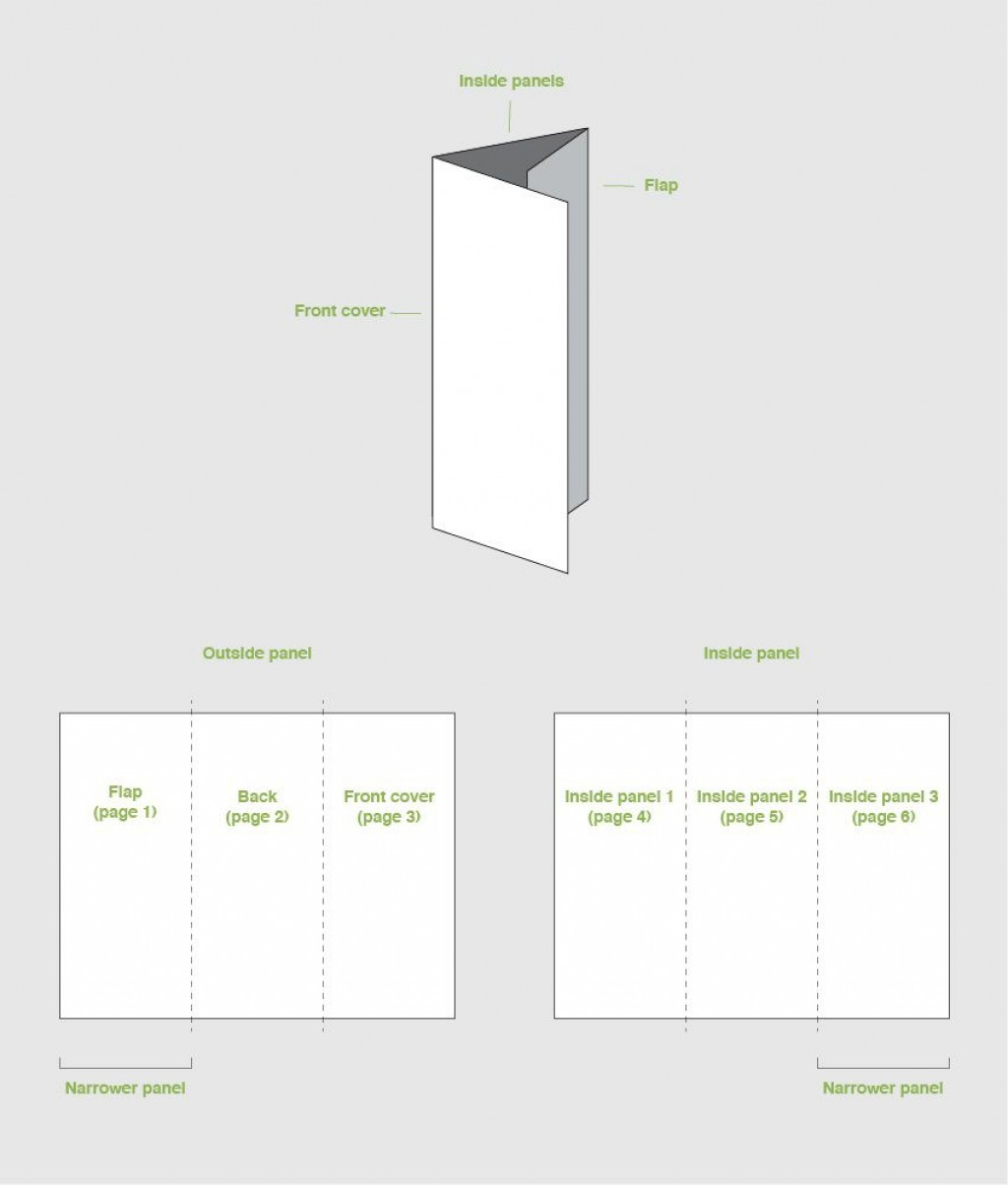 002 Astounding Template For Trifold Brochure Image  Tri Fold Indesign A4 Free In Word DownloadLarge