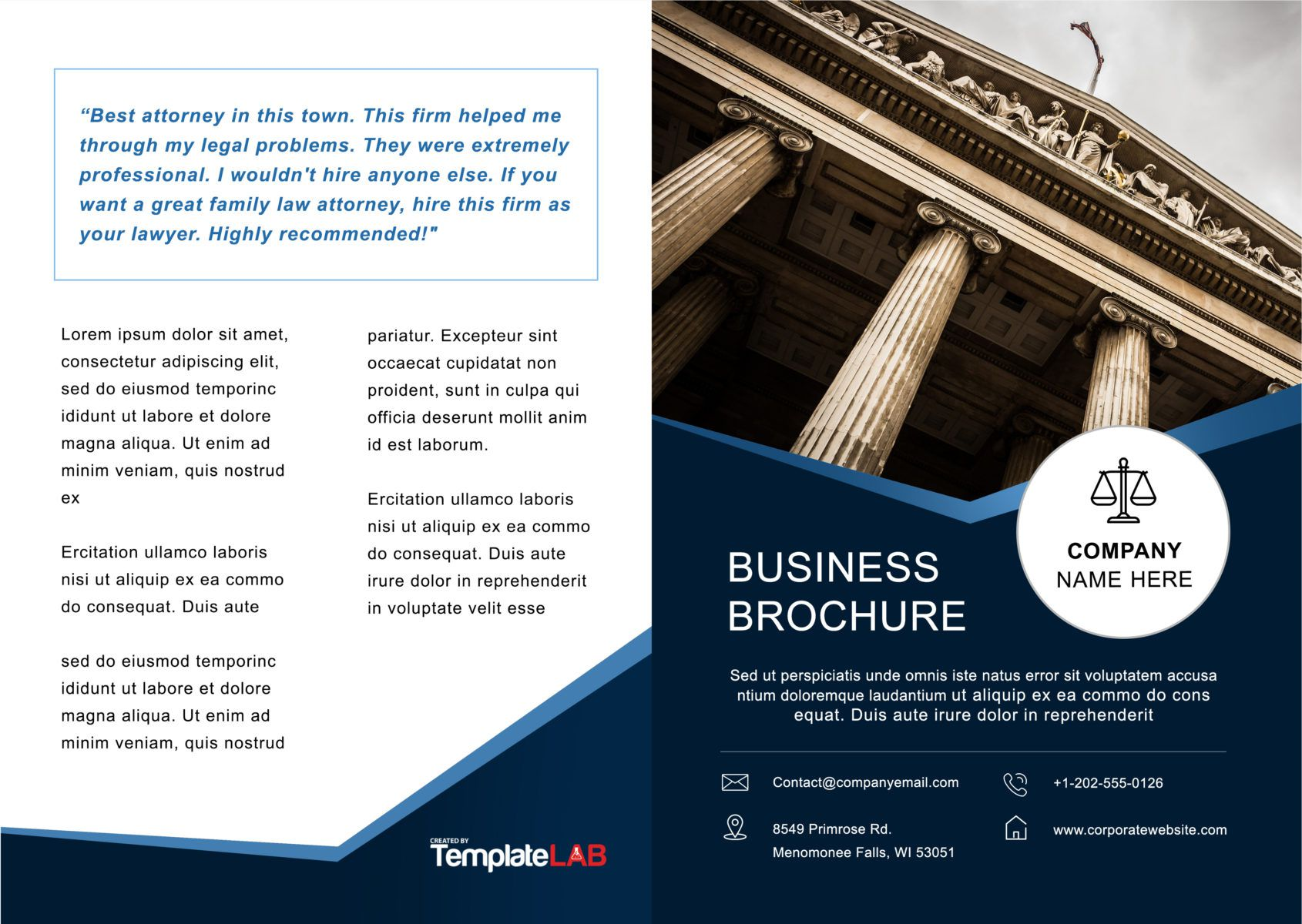 002 Awesome Brochure Template For Word Picture  Online Layout Tri Fold MacFull