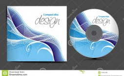 002 Awesome Cd Design Template Free Inspiration  Cover Download Word Label Wedding