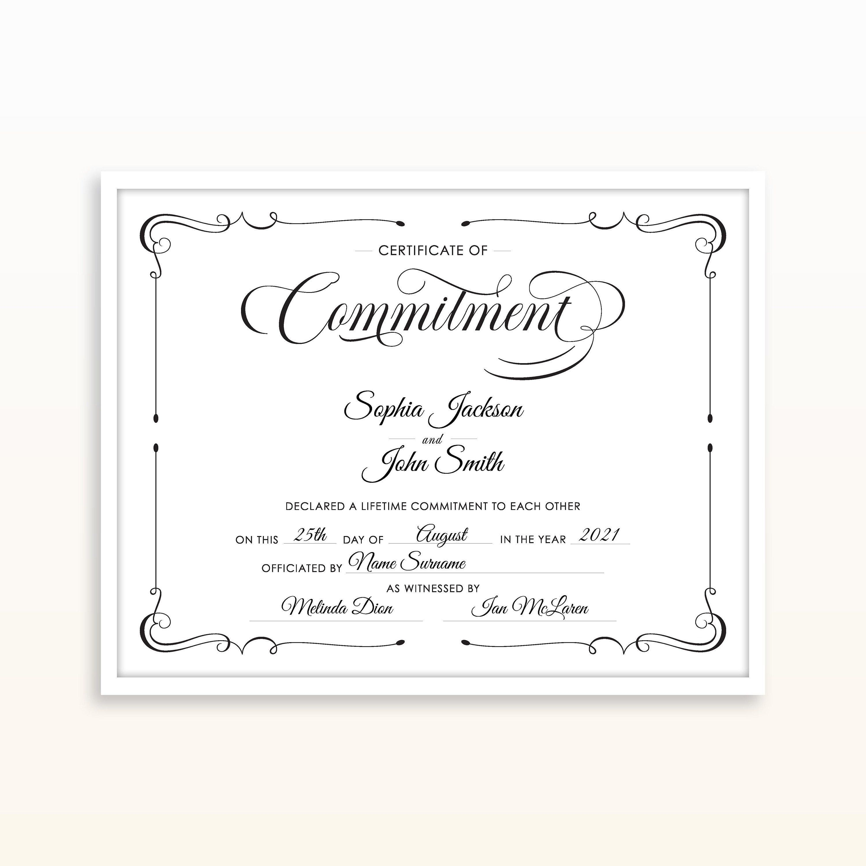 002 Awesome Certificate Of Marriage Template Concept  Word AustraliaFull