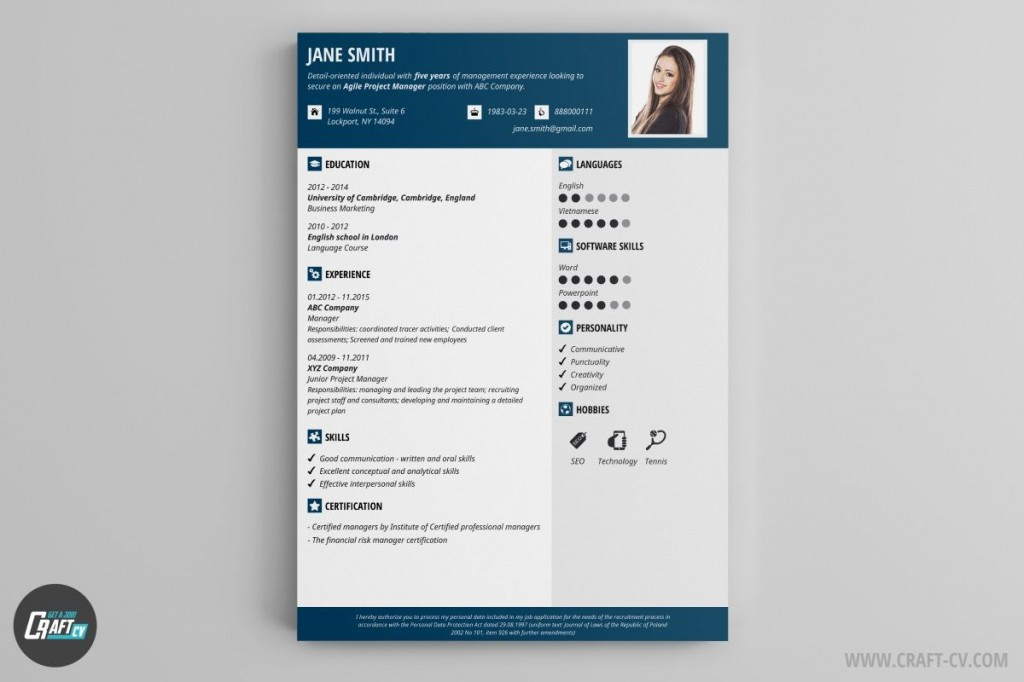 002 Awesome Create Resume Template Online Highest Clarity  Cv FreeLarge