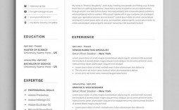 002 Awesome Create Your Own Resume Template In Word Example