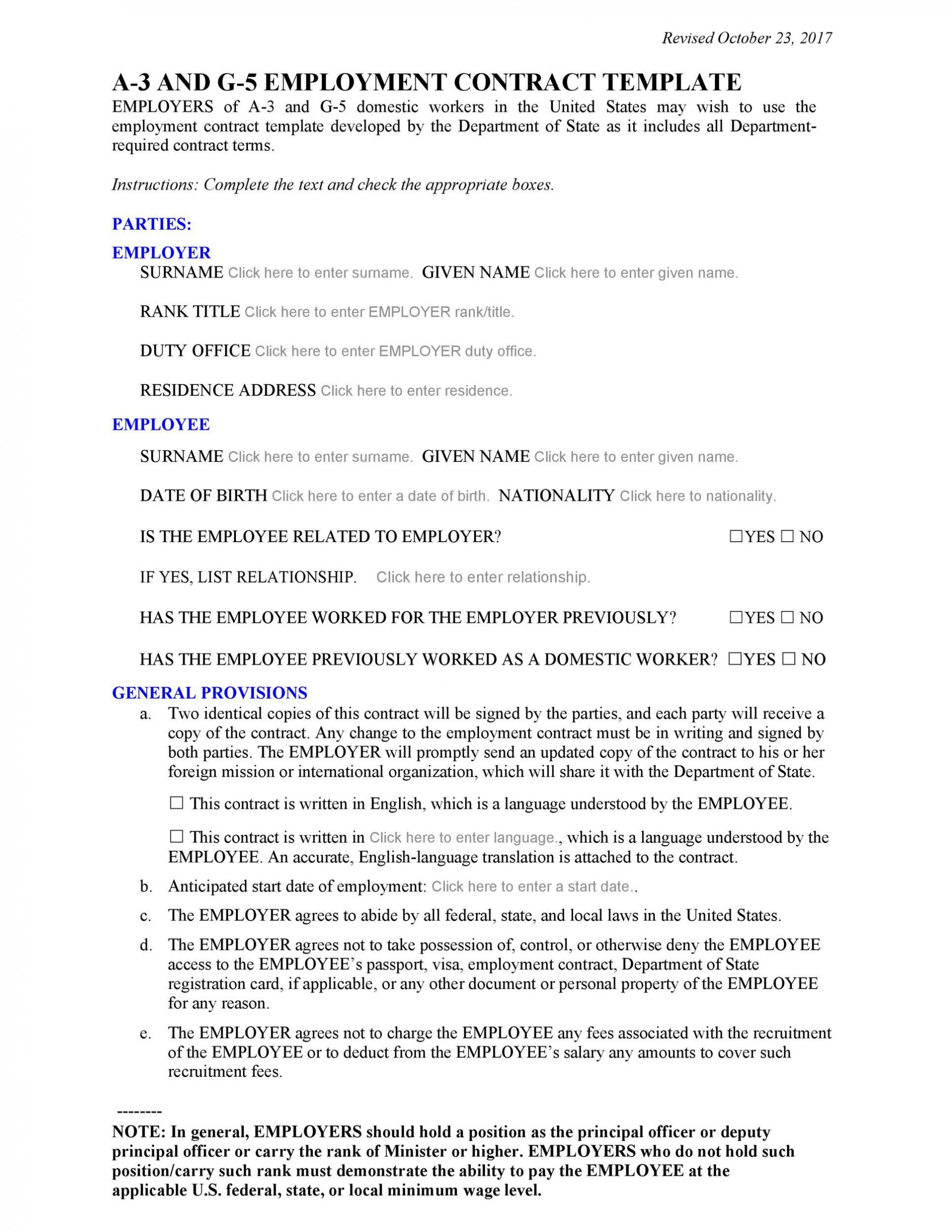 002 Awesome Free Casual Employment Contract Template Australia Concept 1920