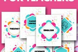002 Awesome Free Printable Teacher Binder Template Inspiration