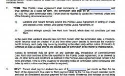 002 Awesome Generic Rental Agreement Free Concept  Template Word Printable