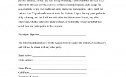 002 Awesome Liability Release Form Template Picture  General Waiver Church Free