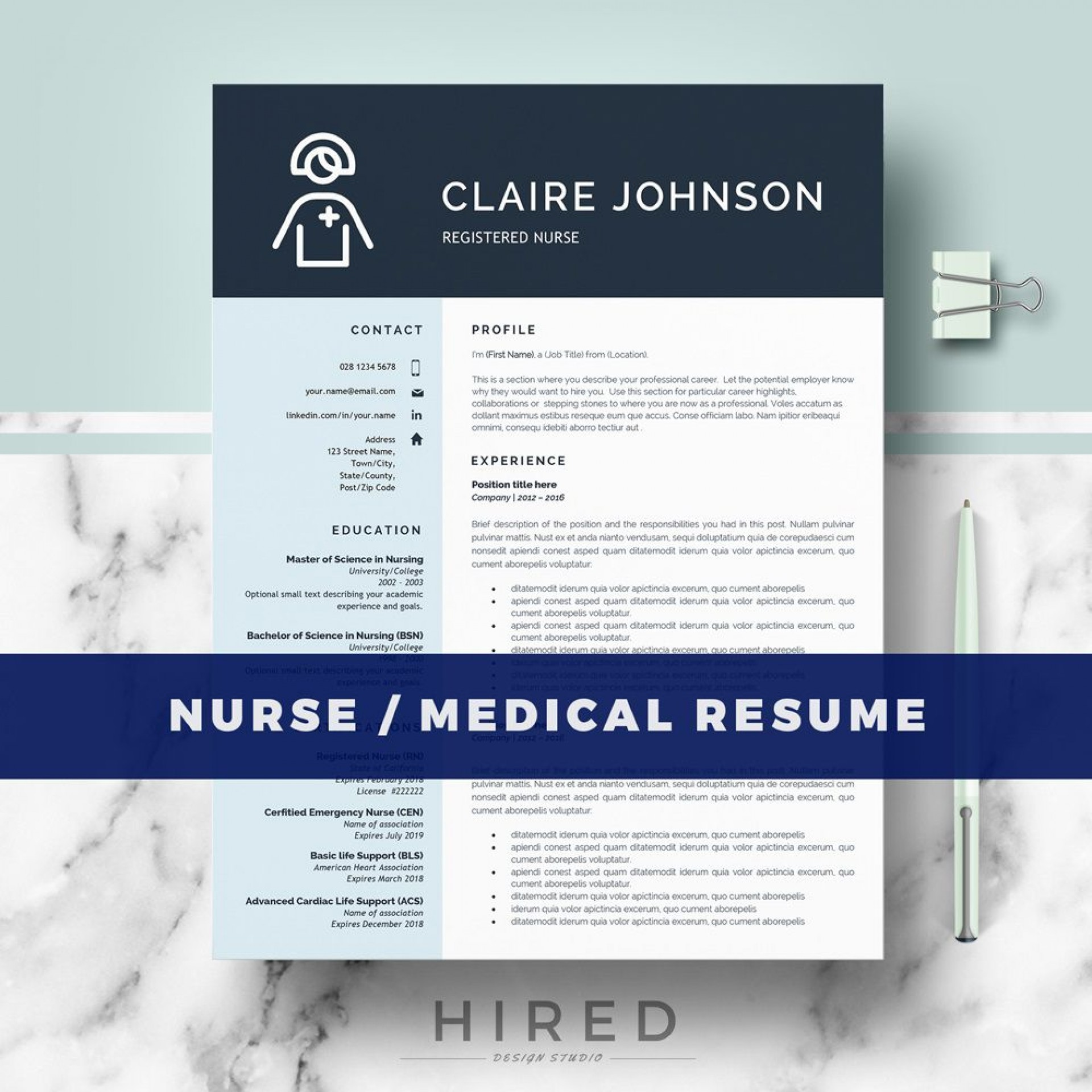 002 Awesome Medical Curriculum Vitae Template Highest Clarity  Templates Word Sample Student1920