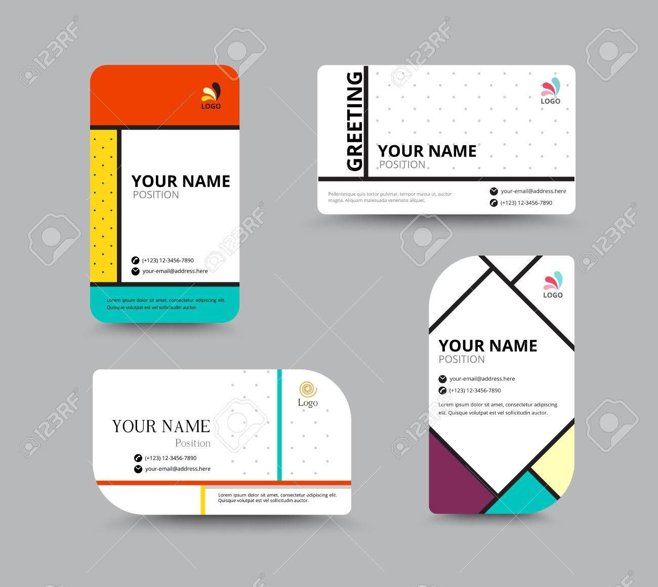 002 Awesome Name Tag Design Template High Definition  Free Download PsdFull