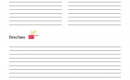 002 Awesome Recipe Book Template Word Photo  Mac Free Microsoft