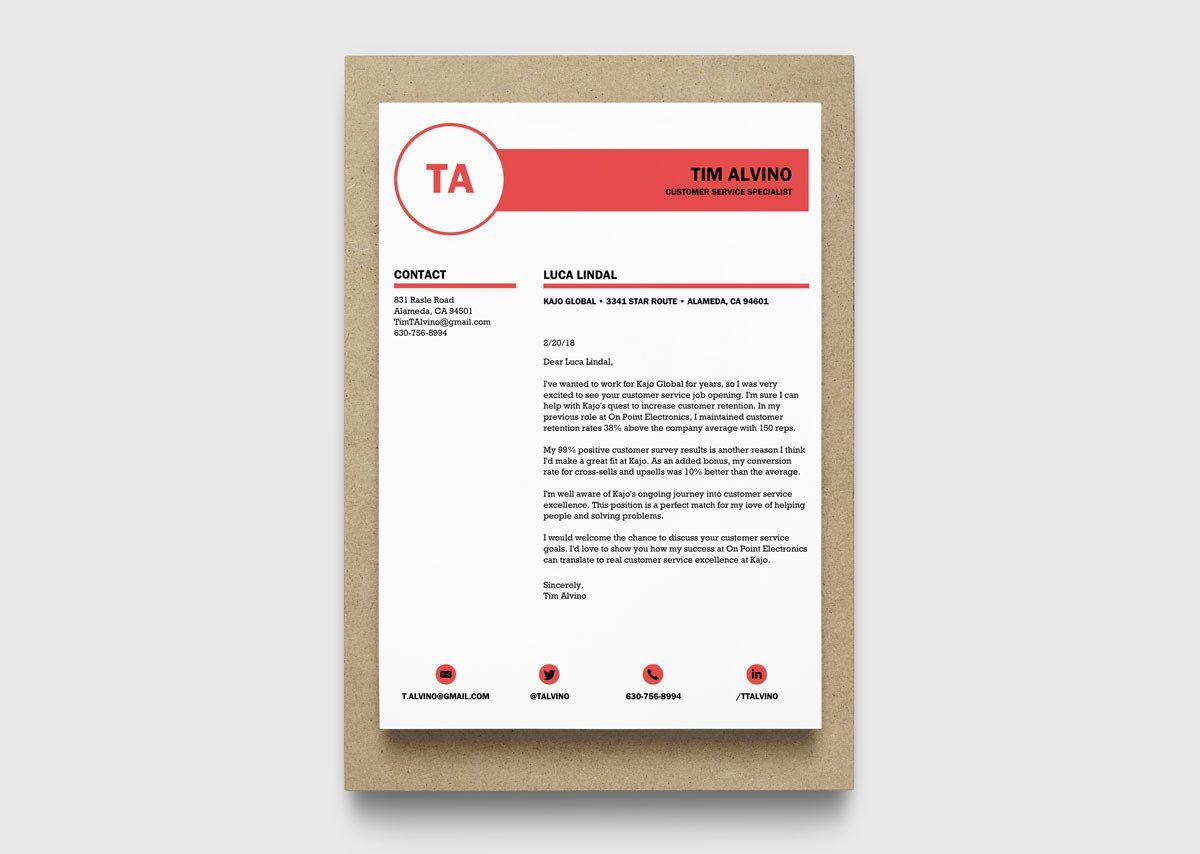 002 Awesome Resume Cover Letter Template Docx High Resolution Full