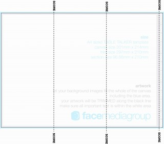 002 Awesome Tri Fold Table Tent Template High Def  Free Word320