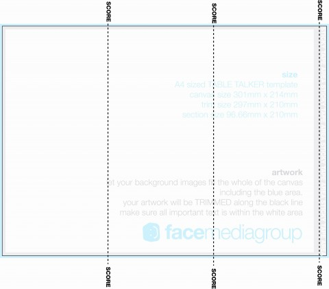 002 Awesome Tri Fold Table Tent Template High Def  Free Word480