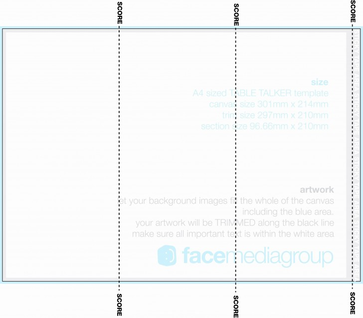 002 Awesome Tri Fold Table Tent Template High Def  Free Word728