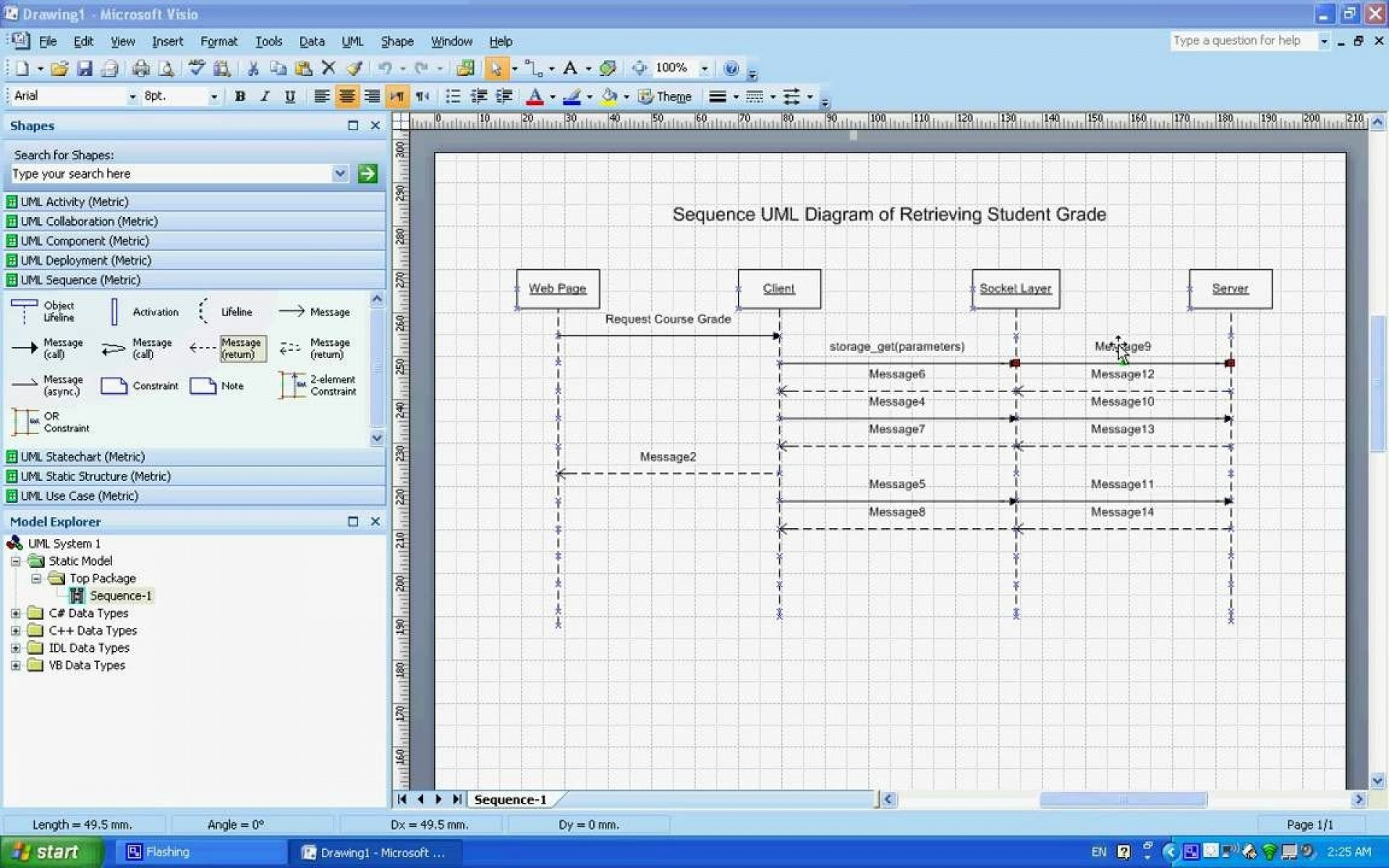 002 Awesome Uml Diagram Template Visio 2010 High Definition  Model Download Clas1920