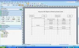 002 Awesome Uml Diagram Template Visio 2010 High Definition  Model Download Clas