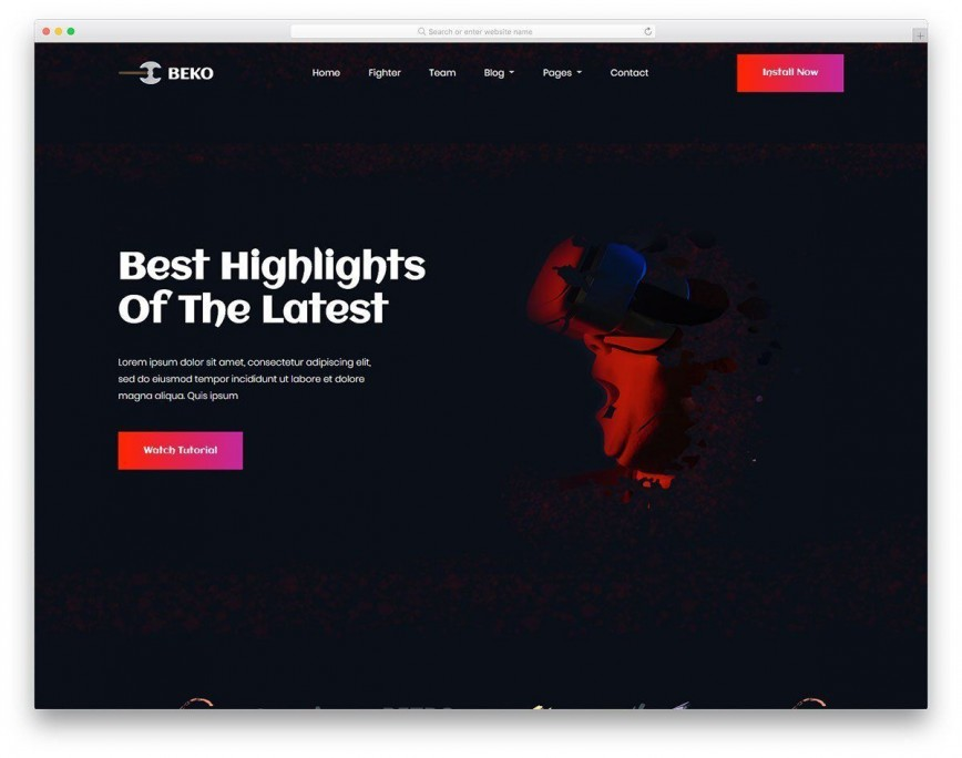 002 Awesome Web Page Design Template Cs Idea  Css