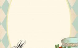 002 Awful Alice In Wonderland Invitation Template Design  Templates Wedding Birthday Free Tea Party