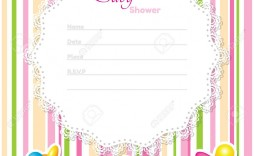 002 Awful Baby Shower Card Template Inspiration  Microsoft Word Invitation Design Online Printable Free
