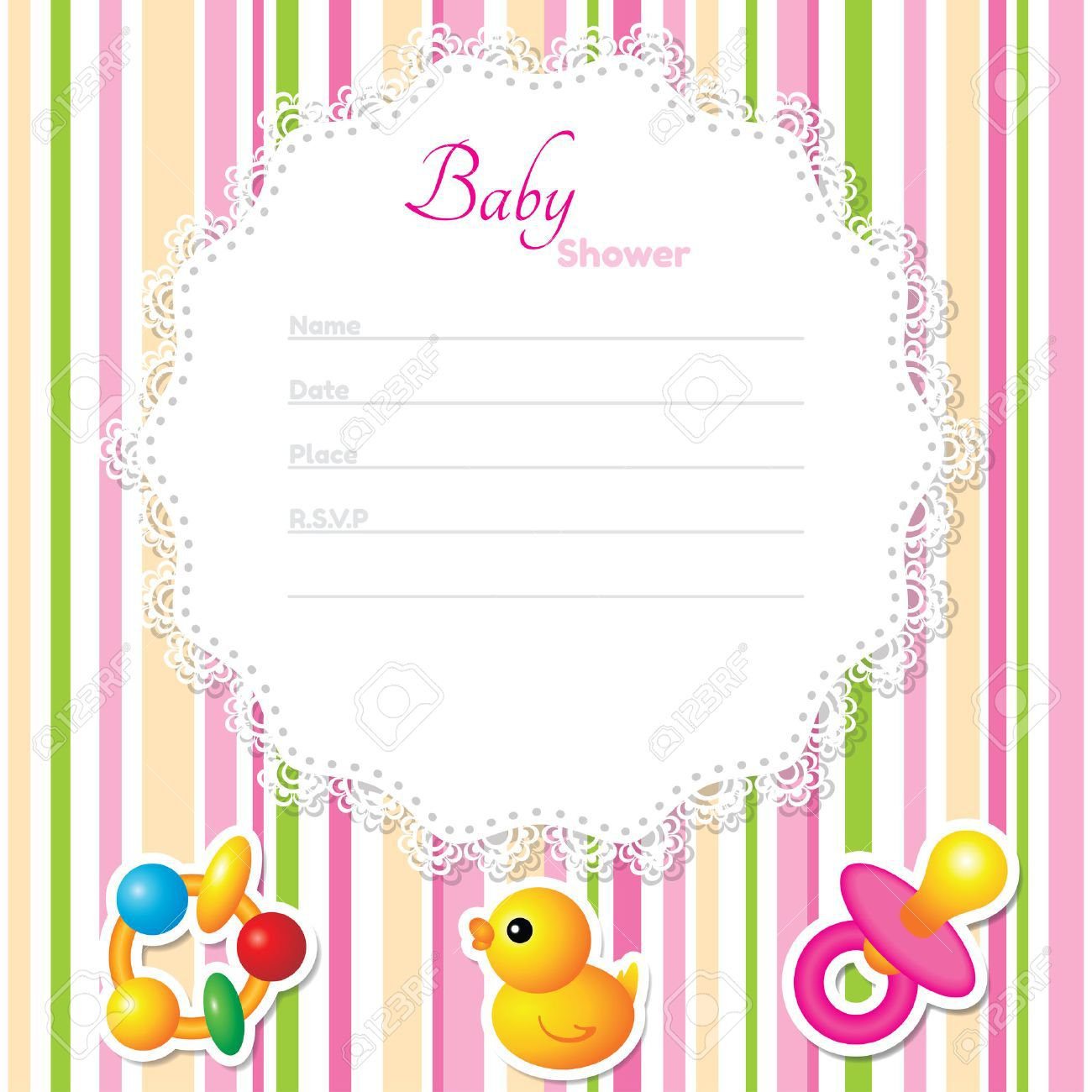 002 Awful Baby Shower Card Template Inspiration  Microsoft Word Invitation Design Online Printable FreeFull