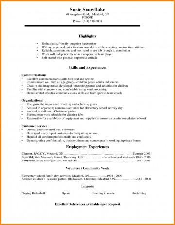 002 Awful Basic Student Resume Template Inspiration  Simple Word High School Australia Google Doc360