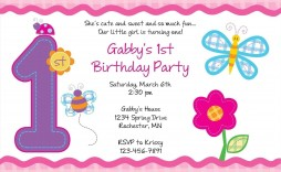 002 Awful Birthday Invitation Template Free Download Highest Quality  Editable Video Twin First Downloadable 18th Printable