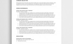 002 Awful Cv Template Free Word 2018 Concept  Download Modern