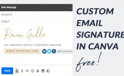 002 Awful Free Email Template For Gmail Photo  Signature
