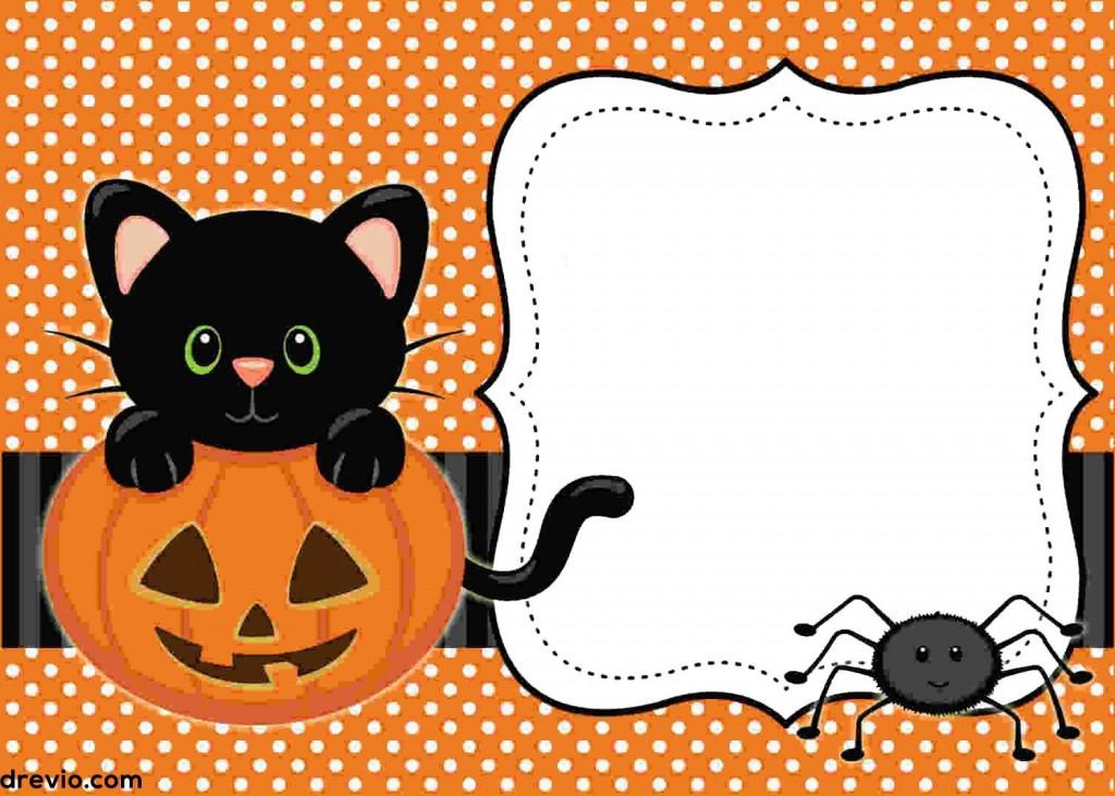 002 Awful Free Halloween Invitation Template Idea  Templates Microsoft Word Wedding Printable PartyLarge