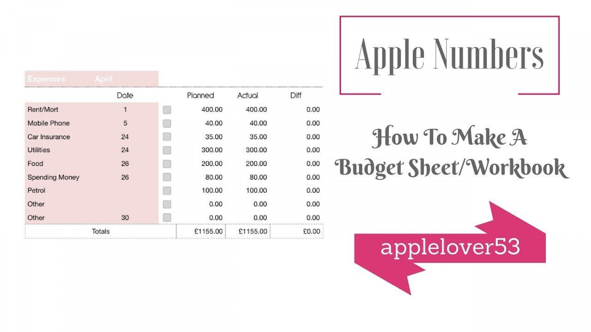 002 Awful Free Monthly Budget Template For Mac Highest Quality  Personal Spreadsheet Household1920