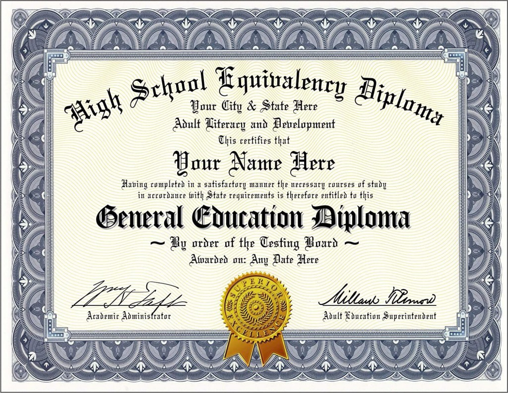 002 Awful Free Printable High School Diploma Online Example Large