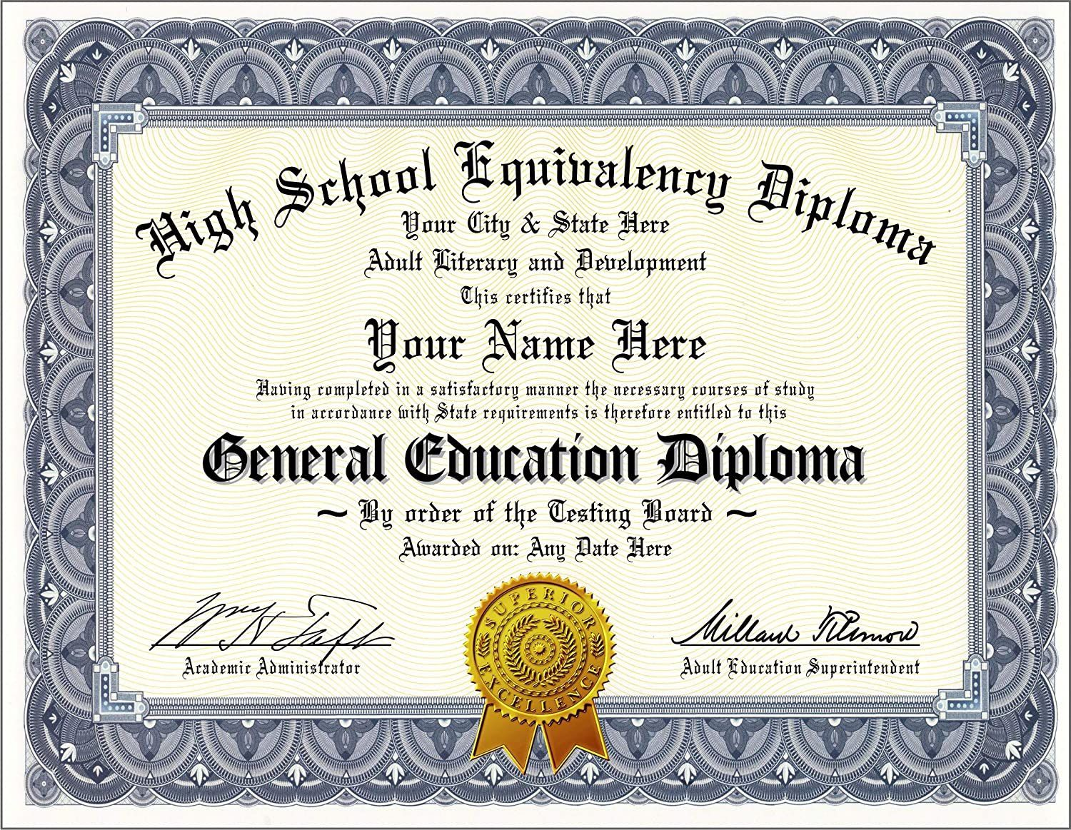 002 Awful Free Printable High School Diploma Online Example Full