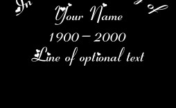 002 Awful In Loving Memory Decal Template High Def  Templates