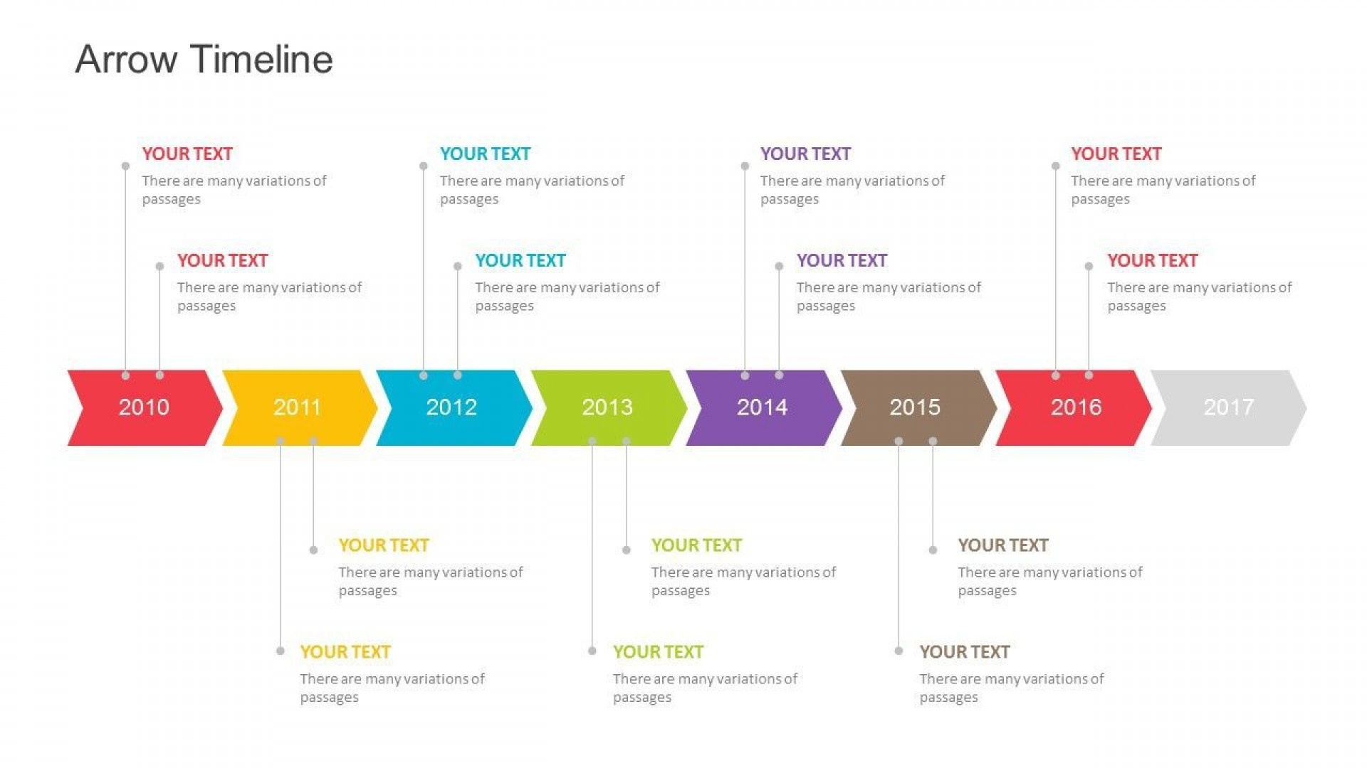 002 Awful Powerpoint Timeline Template Free Download Highest Clarity  Project History1920